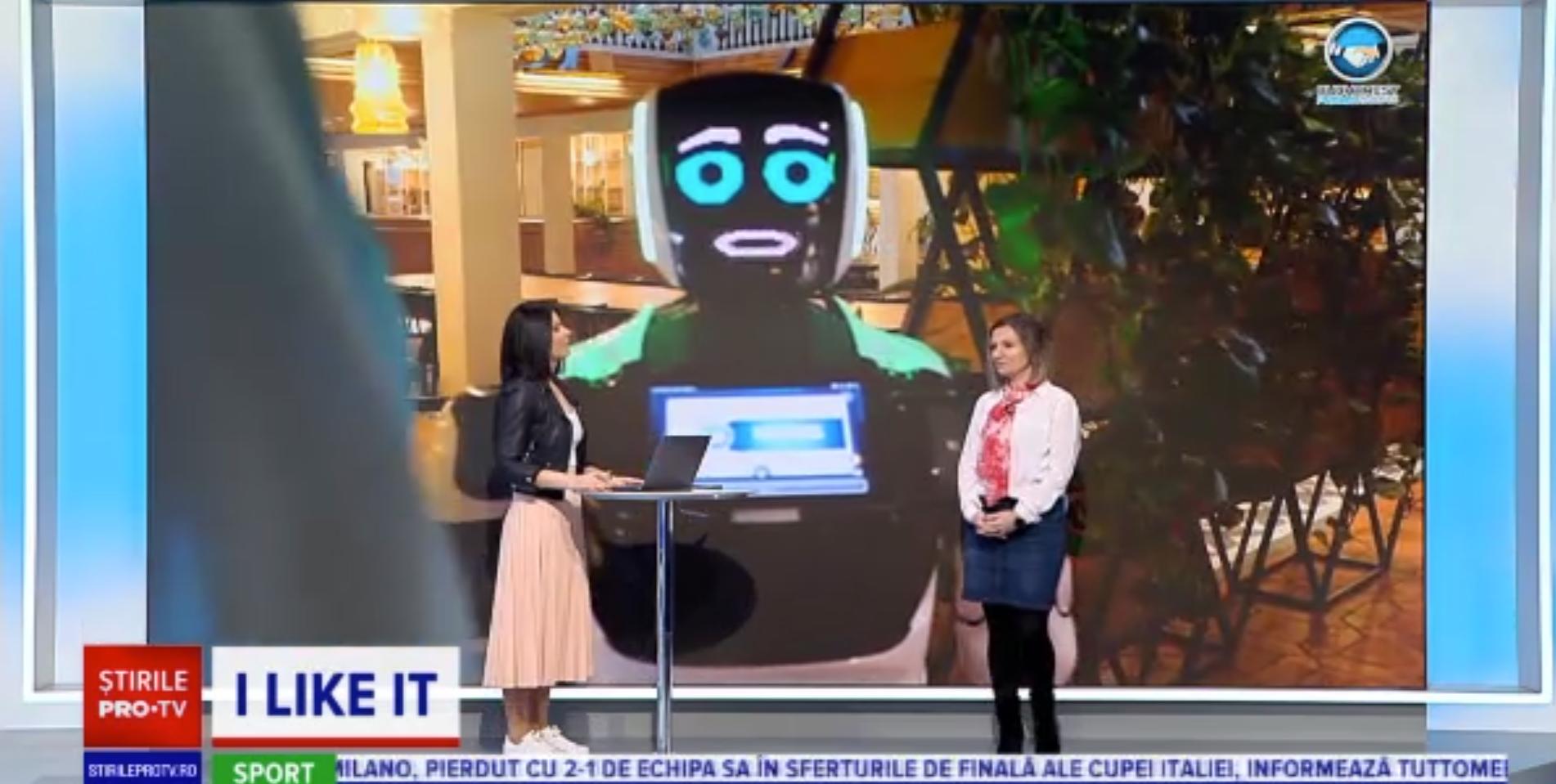 iLikeIT. Cum arată și cum funcționează roboții care îi pot înlocui pe chelneri