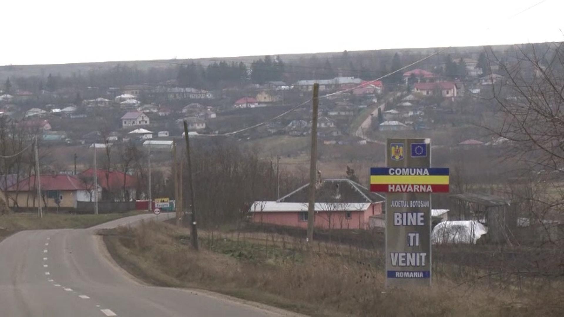 Comuna Havârna, din județul Botoșani, a intrat în carantină. Rata de infectare a ajuns la 13