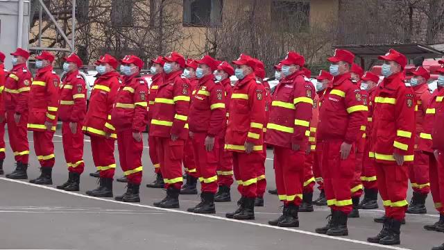 """Paramedicii din Mureș au depus jurământul de militari. """"Sunt mândru că am ajuns în acest moment"""""""