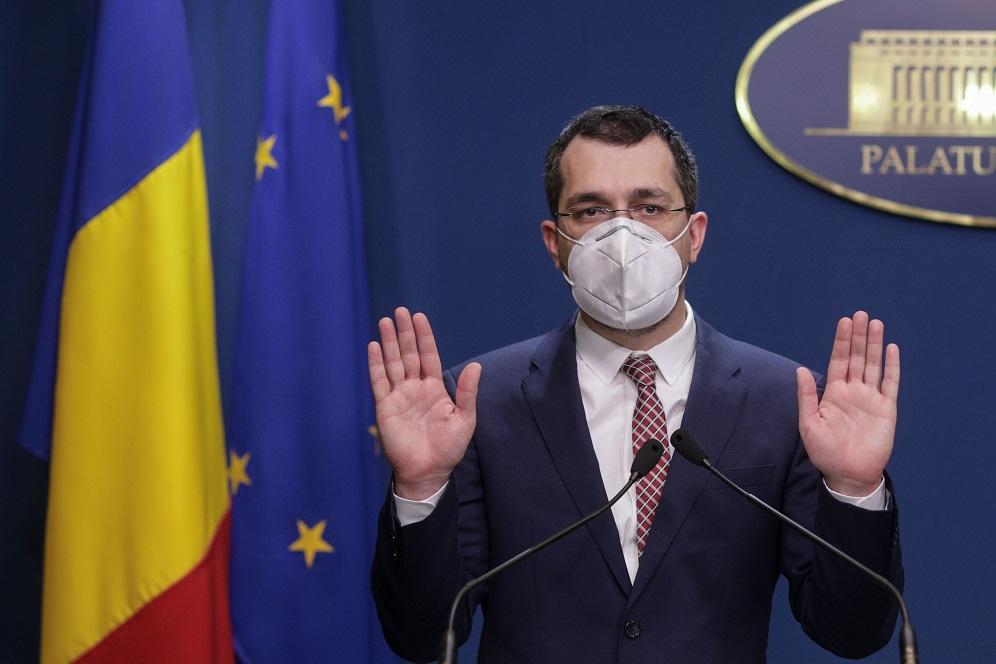 Surse: Vlad Voiculescu s-a autopropus fără succes ca ministru al Sănătății. Replica sa: