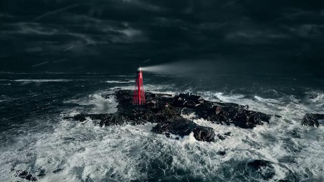Cinema amenajat într-un far, pe o insulă pustie din Suedia. Cum a fost posibil
