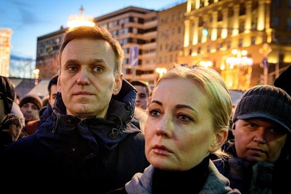 Soția lui Aleksei Navalnîi, reținută la un protest în Moscova. Cel puțin 5.000 de arestări în toată țara