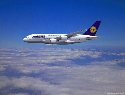 Sute de zboruri, anulate dupa ce pilotii companiei Lufthansa au intrat in greva din cauza salariilor