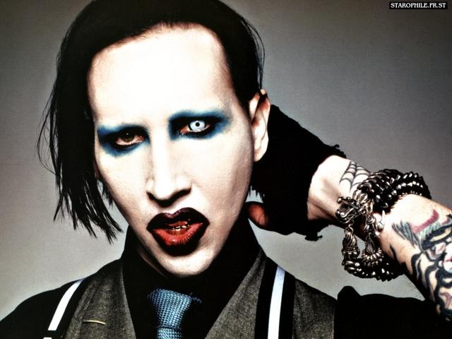 Marilyn Manson are gripa porcina