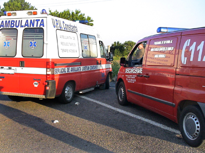 Timisoara: trei raniti, trei masini lovite si un troleibuz sifonat