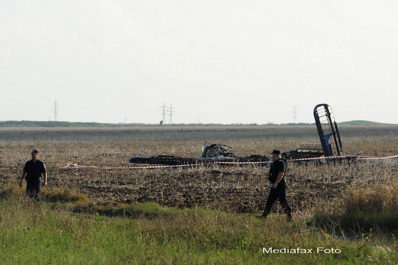 Cei doi militari raniti in accidentul aviatic de la Tuzla, in stare stabila