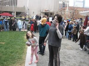 Orasul american Seattle a fost invadat de zombi