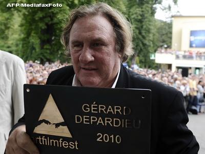 Gerard Depardieu filmeaza in Romania
