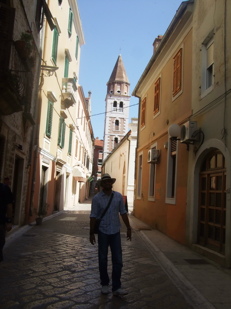 Vacanta in Croatia. Denis Stefan s-a jucat cu o vulpe salbatica