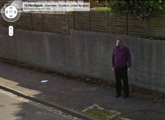 FOTO. Cele mai intrigante instantanee suprinse de Google Street View