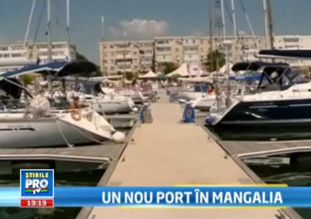 Adio, Nisa si Monte Carlo.Romania are acum un port de iahturi ca in marile orase de pe Mediterana :)