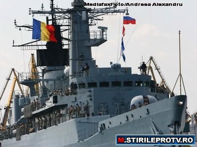 Fregata Regina Maria s-a intors din misiunea NATO