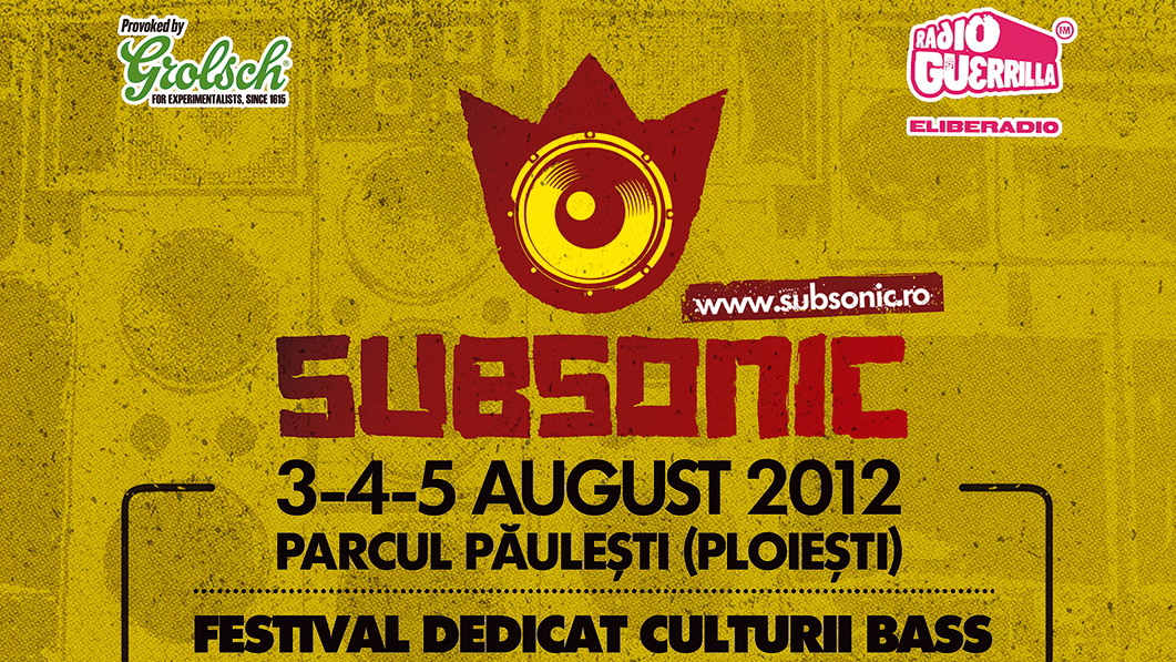 Dub, reggae, bass & more. Festivalul SUBSONIC va avea loc in Parcul Paulesti, 3-5 august 2012