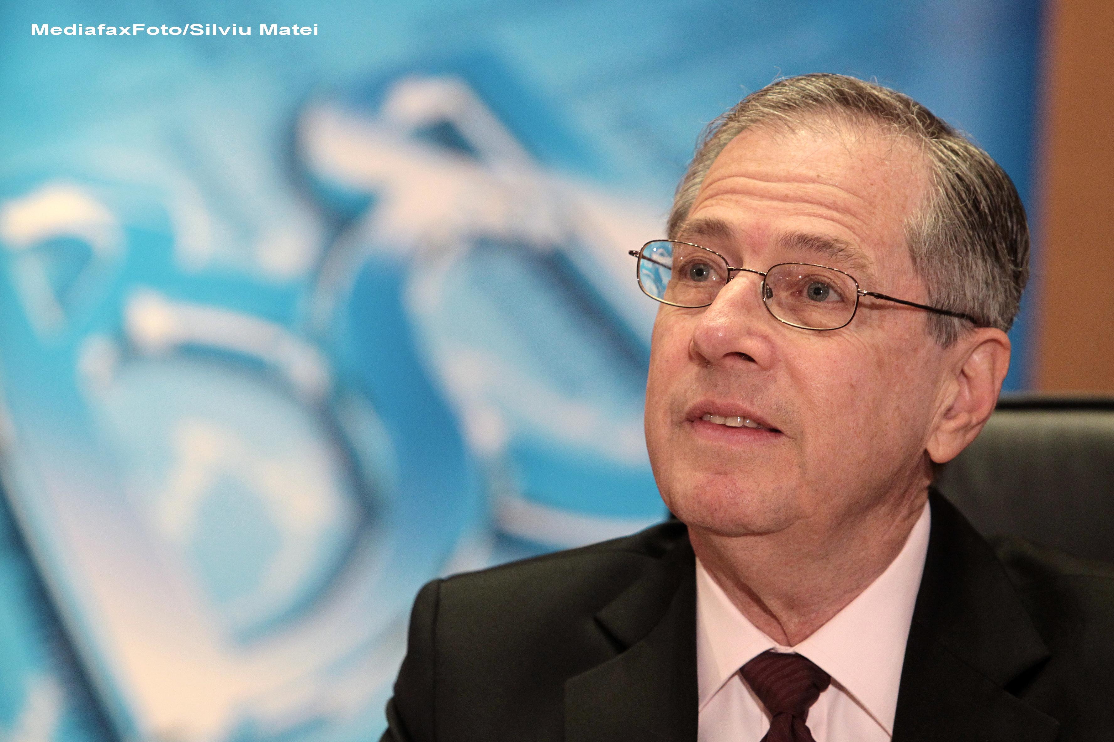 Ambasada SUA: Ambasadorul Mark Gitenstein a plecat de la Palatul Cotroceni