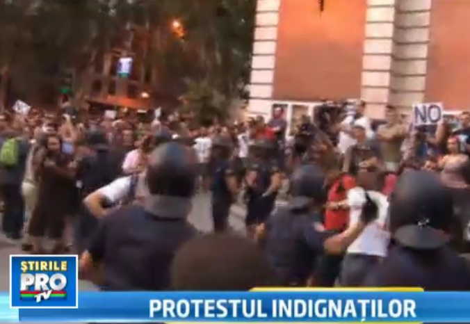 Proteste in Spania impotriva masurilor de austeritate. Autoritati: Tara trece prin momente dificile