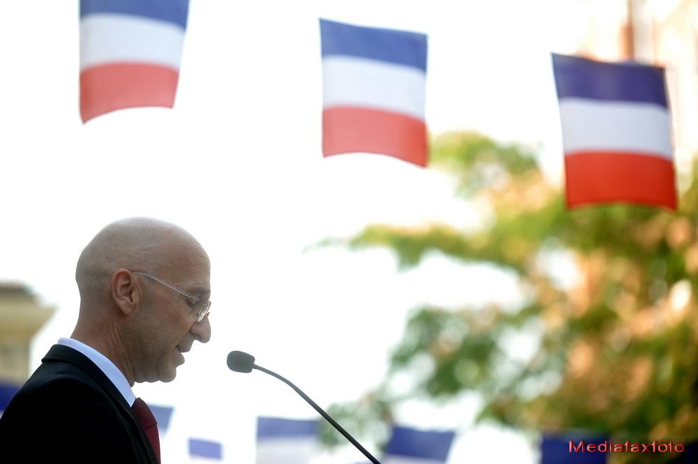 Ziua Frantei, sarbatorita in Capitala. Crin Antonescu si Victor Ponta, prezenti la festivitati