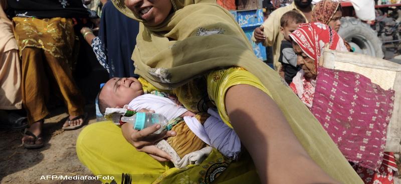 Caz socant in Pakistan. Un bebelus a inceput sa planga in timpul propriei inmormantari