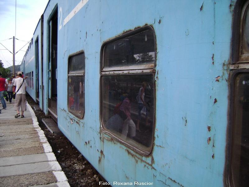 Jurnal de calatorie cu trenul, iulie 2012. Senzatii tari, incluse in pretul biletulului.FOTOREPORTAJ