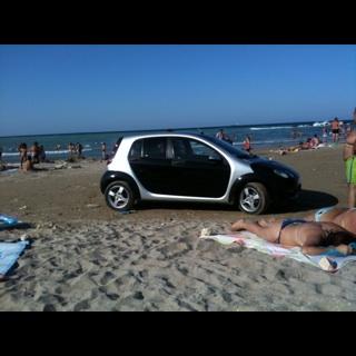 Parcarea de pe plaja si pizza cu muste, imaginile zilei trimise de utilizatorii stirileprotv.ro
