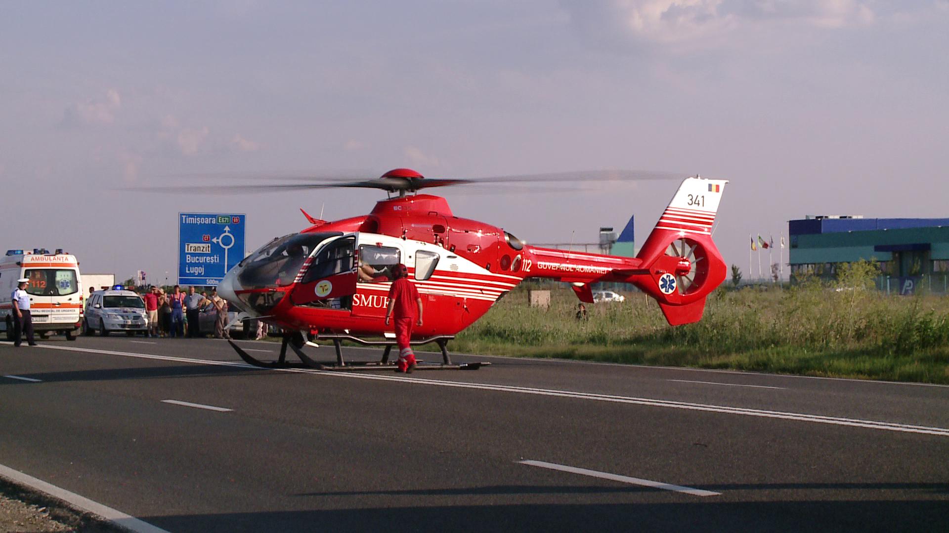 Grav accident rutier pe centura Capitalei. Cinci persoane, duse de urgenta la spital