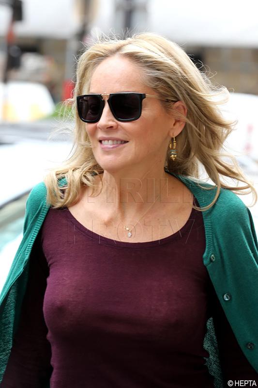 Actrita Sharon Stone, spitalizata la Sao Paulo