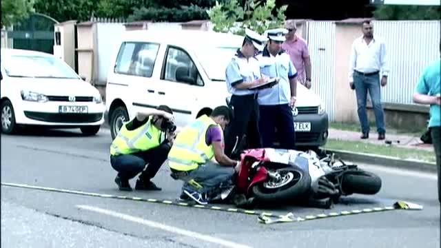 Motociclistul ucis de masina detinuta de fotbalistul Ciprian Marica a fost inmormantat sambata