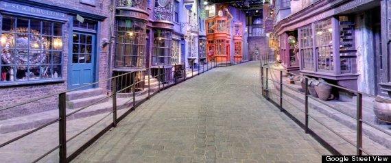 """O parte din universul """"Harry Potter"""" este disponibila acum pe Google Maps. GALERIE FOTO"""