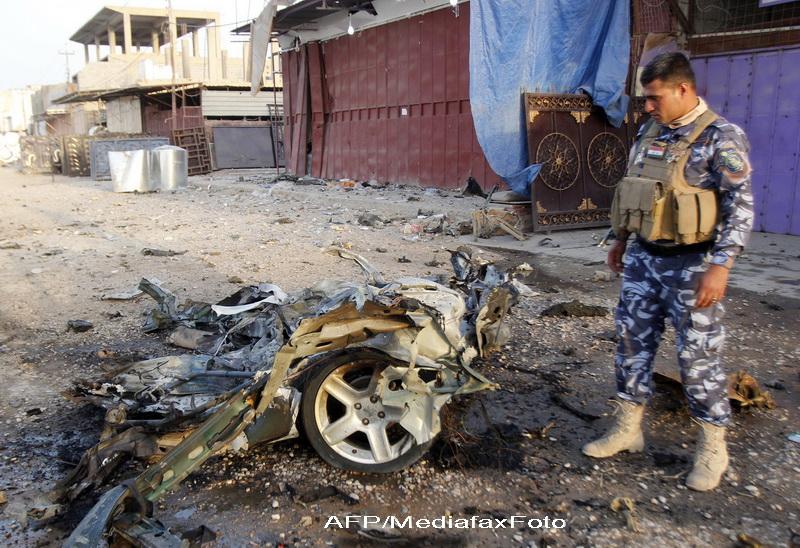 Atentat sinucigas soldat cu 39 de morti in Irak, in timpul postului Ramadan