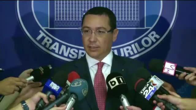 Ponta vrea firme spaniole pentru licitatii in valoare de 1 miliard de euro. Ce garantii le-a oferit