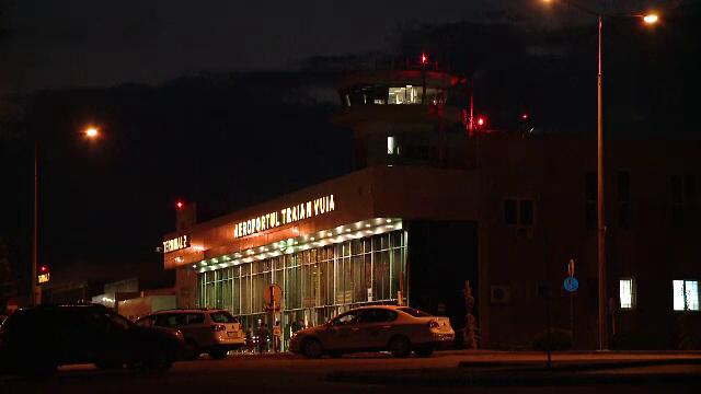 Aterizare de urgenta pe Aeroportul dn Timisoara. Unei pasagere i s-a facut rau