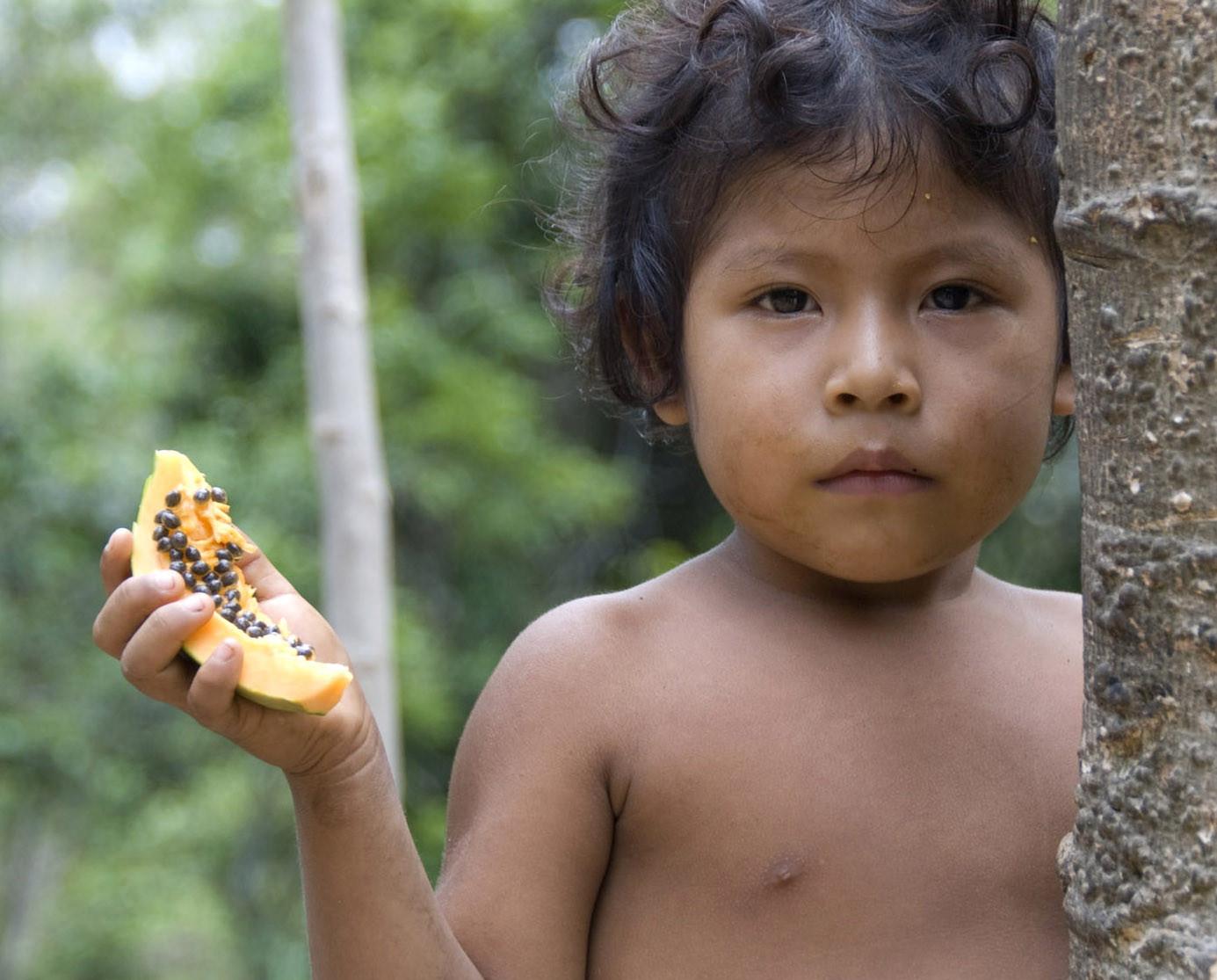 Cel mai amenintat trib din lume este pazit cu tancurile de armata braziliana