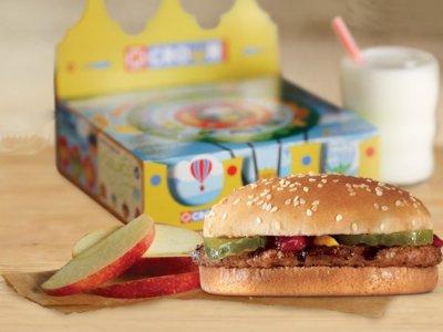 Ce au gasit parintii unui baiat de 4 ani, in meniul cumparat de la Burger King.