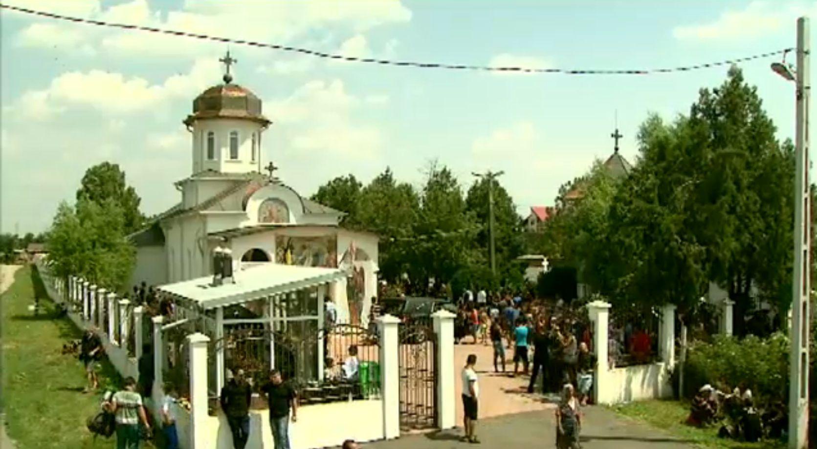 Nae Nicolae a fost inmormantat la Stefanesti. Milionarul, condus pe ultimul drum de 1.000 de oameni