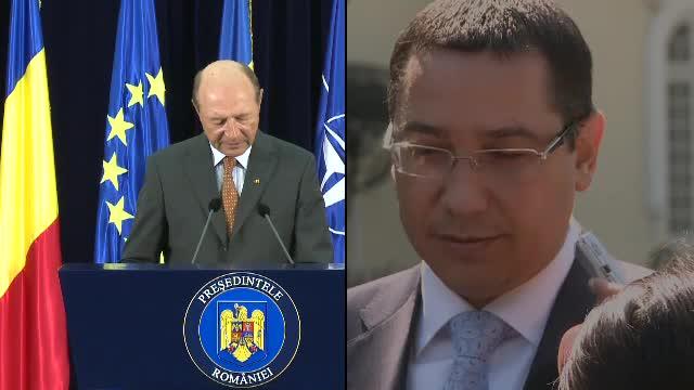 Basescu, ironizat la Congresul TSD: Banicioiu i-a dat lui Ponta o colivie