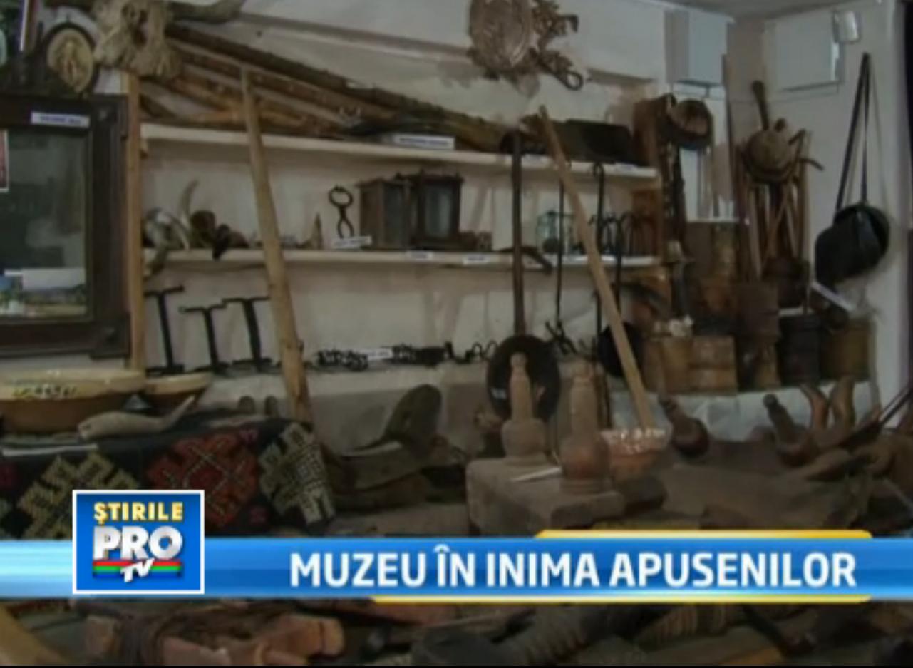 Muzeograf amator. Nea Achim si-a transformat casa intr-un veritabil muzeu dedicat Apusenilor