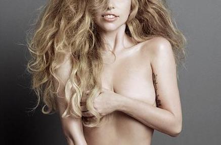 Lady Gaga a pozat nud pentru coperta unei reviste. Imaginea, publicata de retelele de socializare