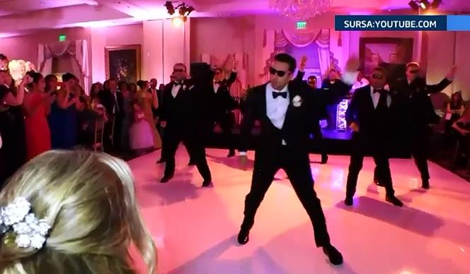 Dansul unui mire a strans peste 10 milioane de vizualizari pe internet. Cum si-a impresionat mireasa