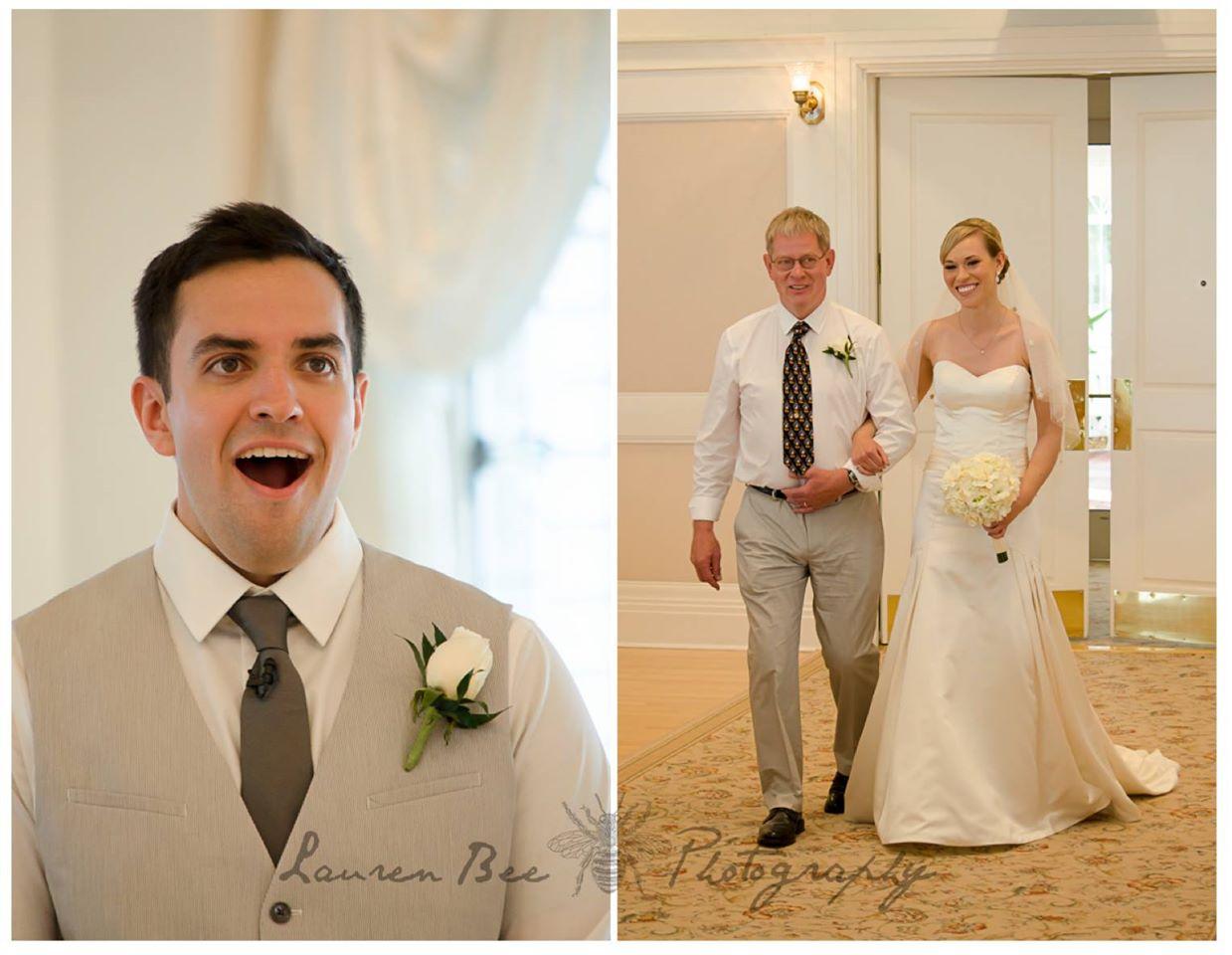 Reactia unui barbat atunci cand si-a vazut iubita in rochie de mireasa pentru prima data