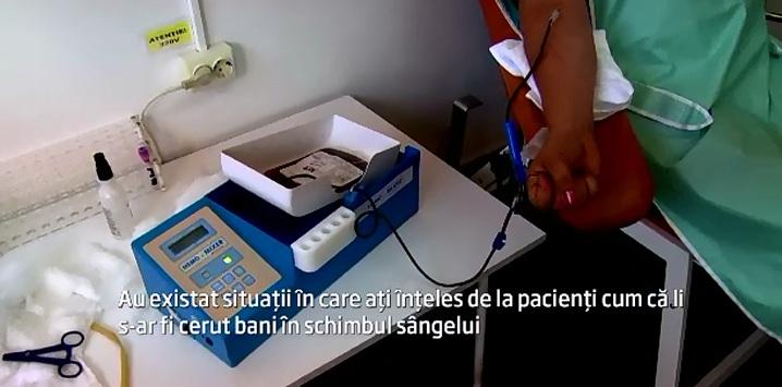 Cat costa o sansa la viata in spitalele din Ialomita. Sefa centrului de transfuzii, acuzata ca vindea flacoane cu sange