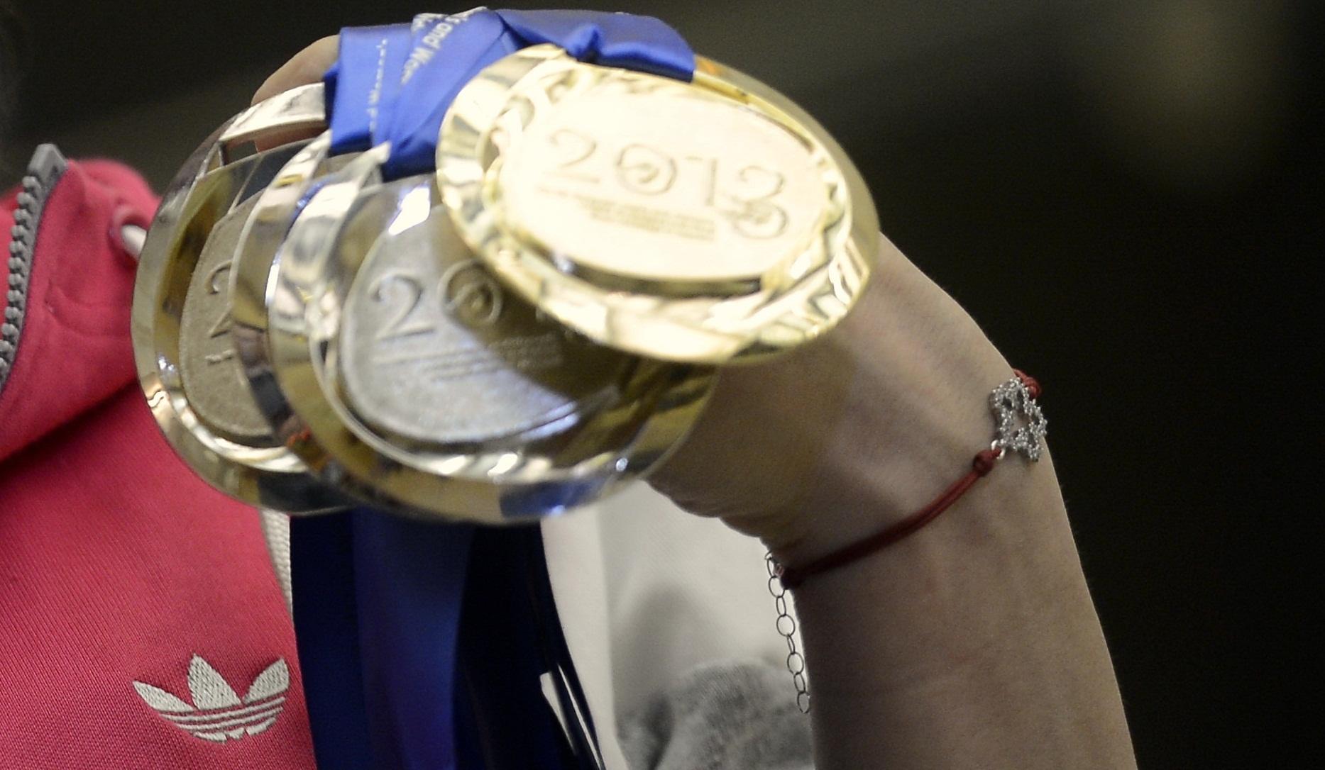 Jocurile Europene Baku 2015: Romania obtine o noua medalie de argint, la gimnastica aerobica