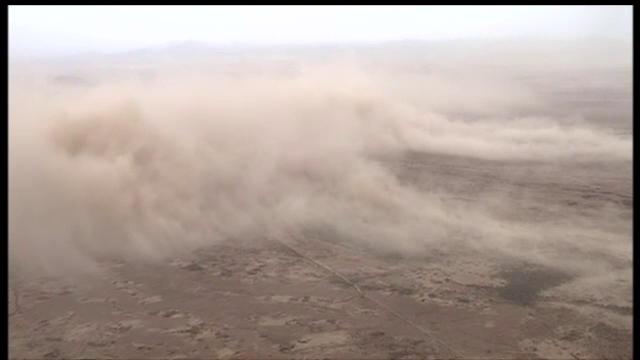 O furtuna de nisip a maturat orasul american Phoenix. Cum s-a produs fenomenul rar