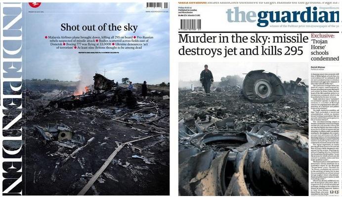 Catastrofa aviatica din Ucraina, in presa internationala. De la
