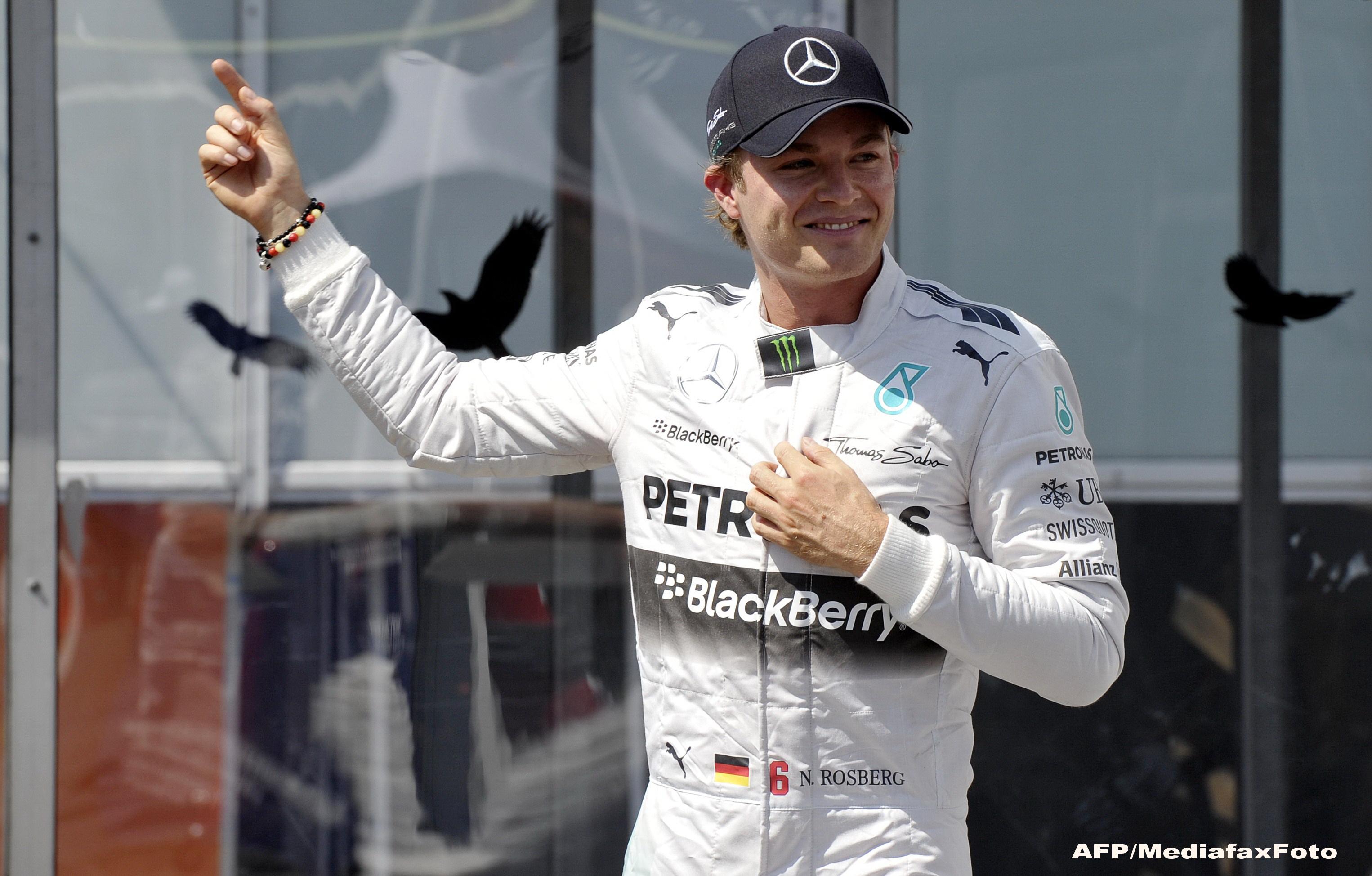 Formula 1: Germanul Nico Rosberg va pleca din pole position in Marele Premiu al Japoniei de la Suzuka