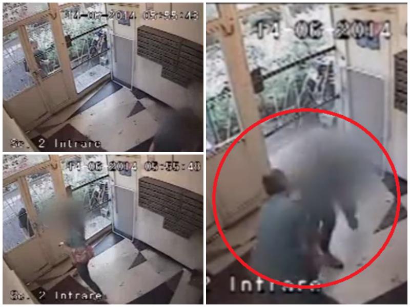 Iata de ce nu trebuie sa deschizi niciodata usa blocului unei persoane necunoscute. Ce a patit o tanara din Bucuresti. VIDEO