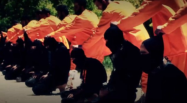 13 jihadisti ISIS, executati de Armata Islamului, o grupare de rebeli sirieni: