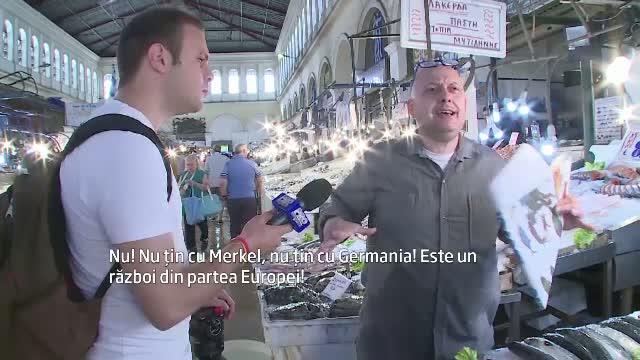 Corespondentul Stirile ProTV Paul Angelescu relateaza din Atena. Care este atmosfera inaintea referendumului de duminica