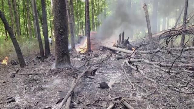 Doua persoane au murit dupa ce un avion de lupta F-16 si un avion de turism s-au ciocnit in aer. Cum s-a salvat un pilot