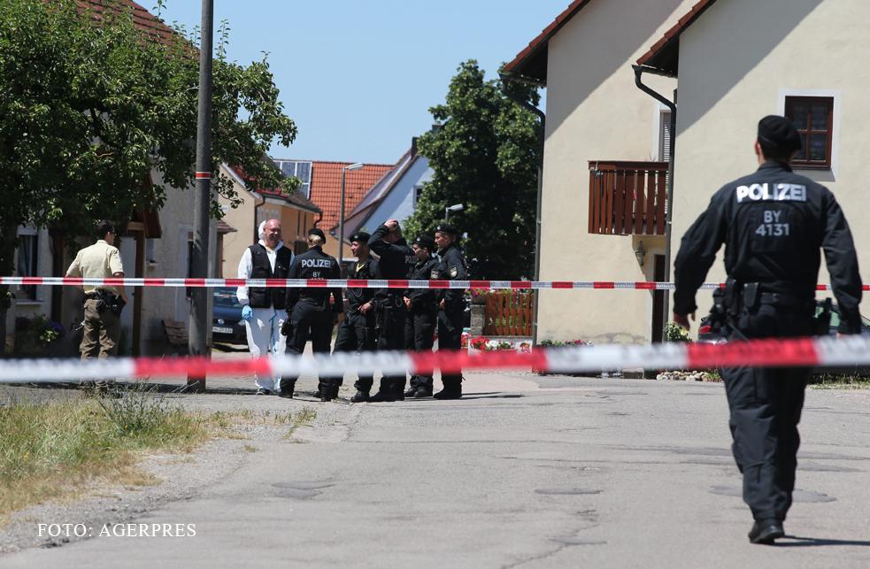 Atac armat cu 2 morti in sudul Germaniei. FOTO: Momentul in care politia a reusit sa-l prinda pe ucigas