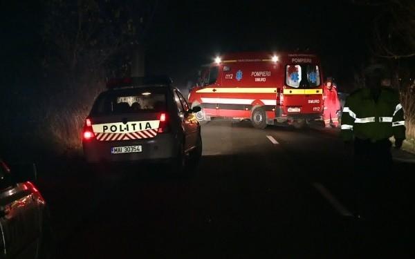 Doi tineri au fost carbonizati, intr-un grav accident rutier inregistrat in Olt. Cum s-a produs tragedia