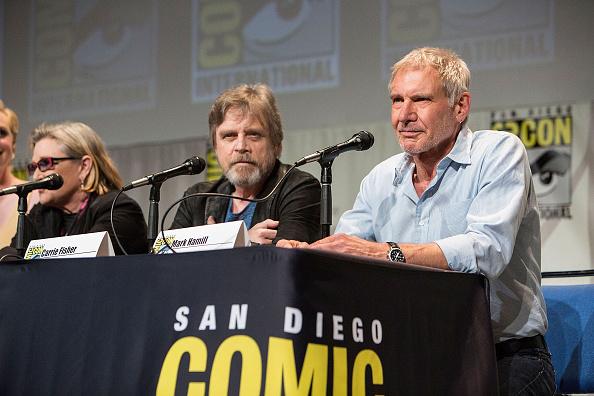 Harrison Ford, pentru prima data in public de la accidentul de avion. Actorul a prezentat noul film Star Wars la Comic-Con